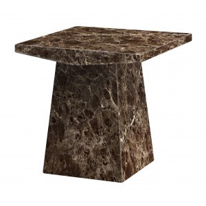 Senegal Marble Lamp Table