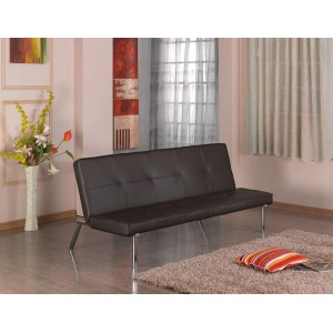 Seattle PU Sofa Bed Black