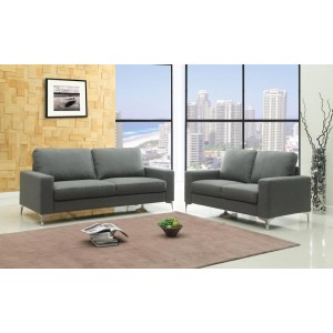 Sally Fabric 2 Seater Sofa...