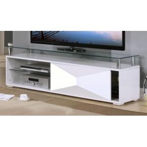 Rowley White High Gloss TV...