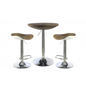 Ripley Bar Table Chrome...