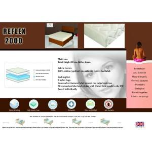 Reflex 2000 Mattress Single