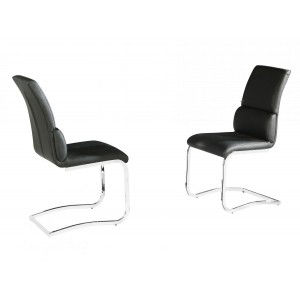 Phoenix PU Chairs Chrome &...