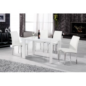 Peru Dining Table White...