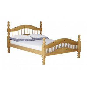Padova Pine Double Bed