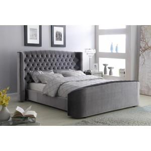 Oregon Velvet Double Bed...