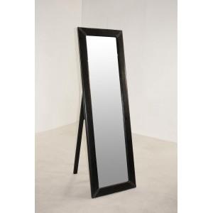 Odessa Mirror Cheval PU Black
