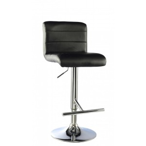 Molly Bar Stool PU Chrome &...