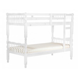 Milano Pine Bunk Bed White...