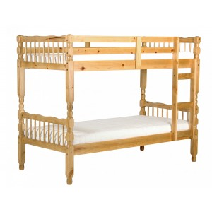 Milano Pine Bunk Bed Light...