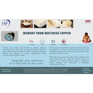 Memory Topper 40mm King Size