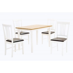 Massa Chairs Oak & White