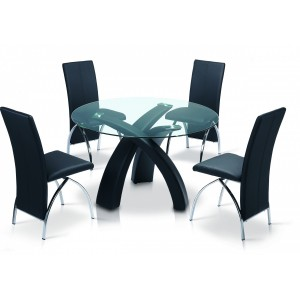 Marston Dining Table Black...