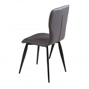 Manhattan PU Chairs Grey &...